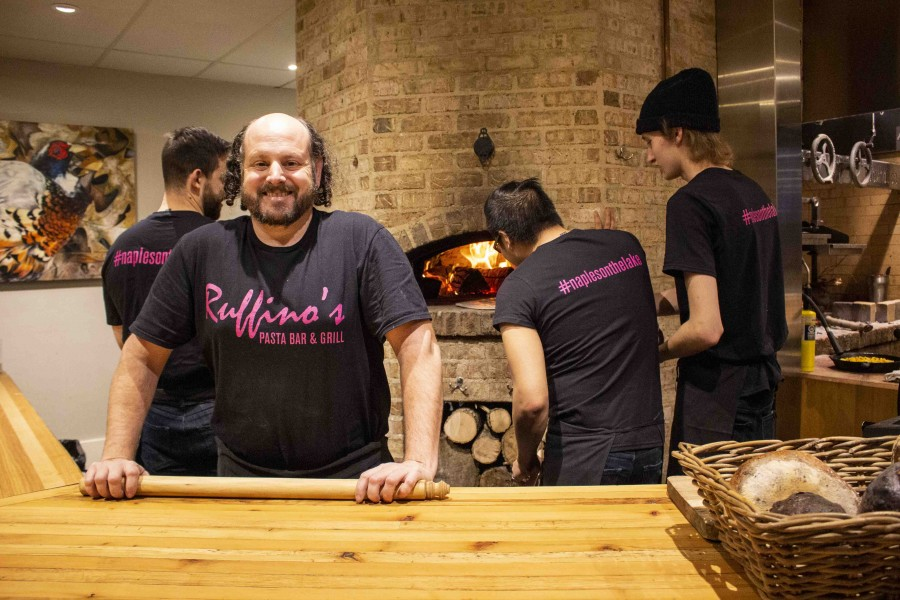 Chef Ryan Crawford and the staff at Backhouse are busy preparing for the launch of the new pop-up Italian restaurant Ruffino's on Jan. 6. The restaurant will offer a taste of Naples in Niagara-on-the-Lake.