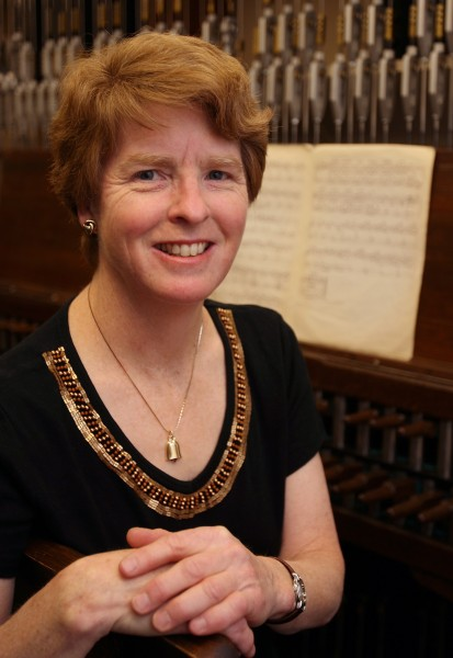Dr. Andrea McCrady, Canada's dominion carillonneur, performs over 200 recitals each year, on the 53-bell Peace Tower Carillion in Ottawa. She recently visited Niagara-on-the-Lake and played the bells of St. Mark's. (House of Commons/Supplied)