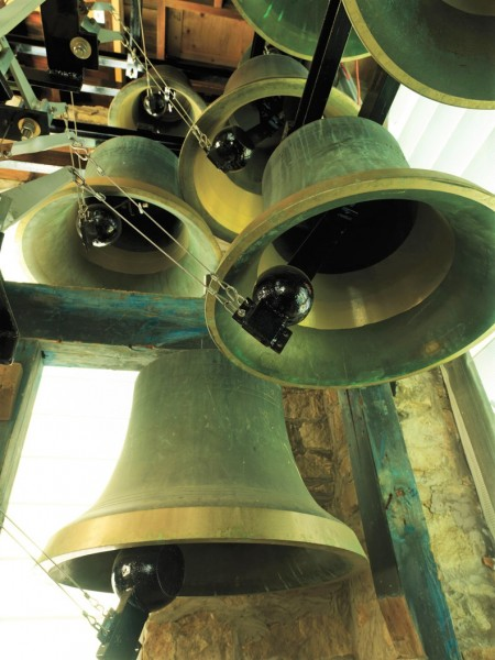 The bells at St. Mark's Church. (Supplied)