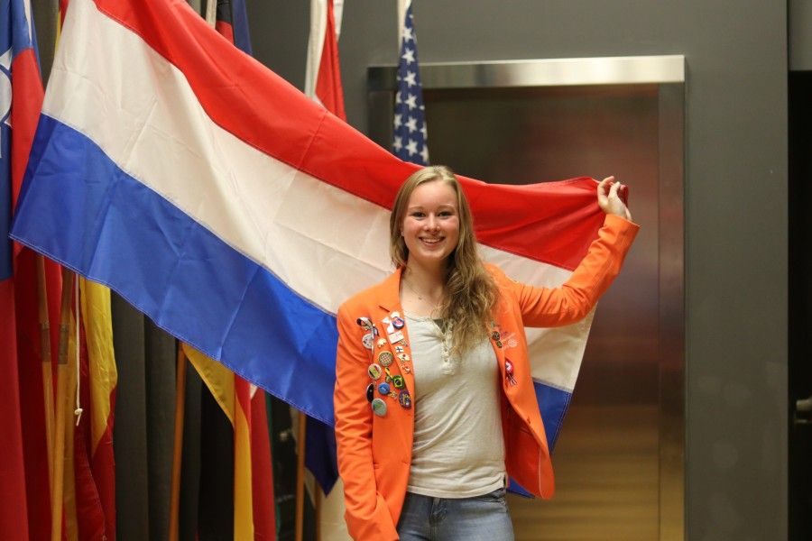 Nikita Lammers is another exchange student in Canada. Lammers is from the Netherlands and she currently lives with a host family in Waterdown. (Dariya Baiguzhiyeva/Niagara Now)