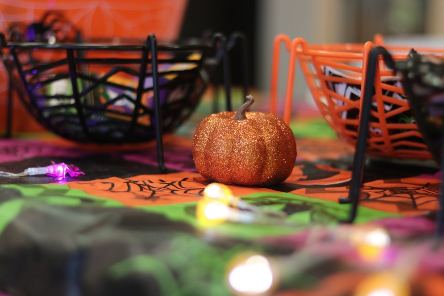 Halloween treats available for children at NOTL community centre.