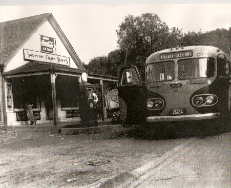 Queenston General store and post office. (Credit: former postmistress Laurie Dickson)